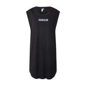 Calvin Klein Swimwear Plážové šaty  černá
