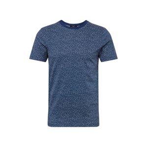 JACK & JONES Tričko 'WAYNE'  námořnická modř