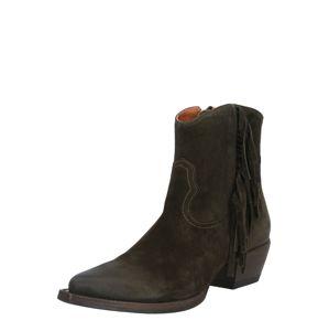 Billi Bi Kovbojské boty 'Army Booties'  khaki