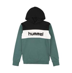 Hummel Mikina 'MORTEN'  pastelově zelená / bílá / černá