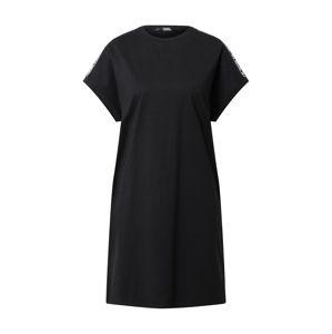 Karl Lagerfeld Šaty  černá / bílá