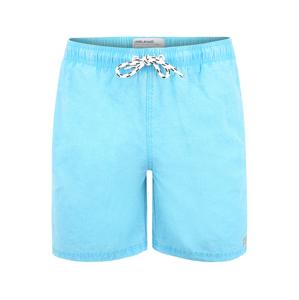 BLEND Plavecké šortky  tyrkysová