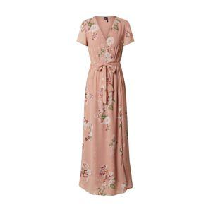 VERO MODA Letní šaty 'VMLOVELY'  offwhite / růžová