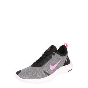 NIKE Běžecká obuv 'Flex Experience RN 8'  černá / šedá / pink