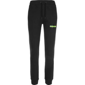 Calvin Klein Jeans Kalhoty  černá / limetková