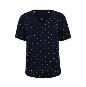 Junarose Tričko 'MAIKA'  bílá / námořnická modř