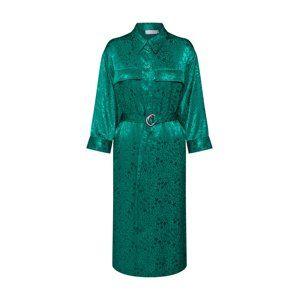 Tiger of Sweden Košilové šaty 'VENEDIG.'  zelená