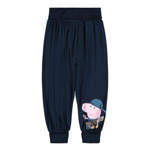 NAME IT Kalhoty 'Peppa Pig'  safírová / lenvandulová / modrá / žlutá