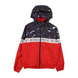 NAME IT Přechodná bunda  červená / tmavě modrá / bílá