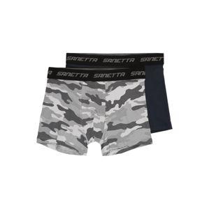 SANETTA Spodní prádlo '346149+346150'  černá / světle šedá
