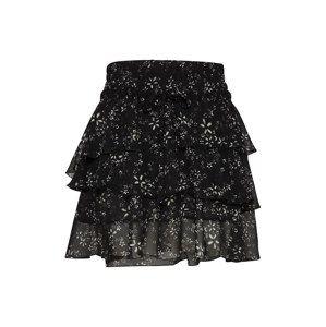 THE KOOPLES SPORT Sukně 'MOON FLOWER '  černá