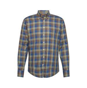 FYNCH-HATTON Košile  tmavě modrá / khaki