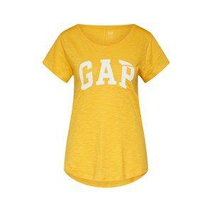 GAP Tričko  žlutá / bílá