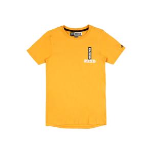 Raizzed Tričko 'Hongkong'  hořčicová / bílá / černá
