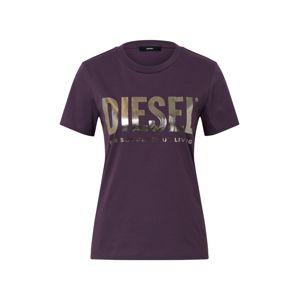 DIESEL Tričko  fialová