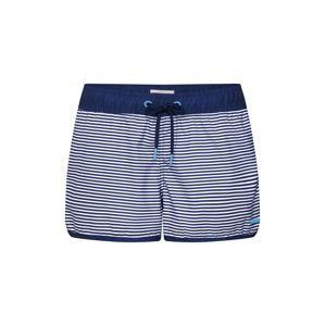 ESPRIT Plavecké šortky  námořnická modř / světlemodrá