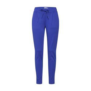 ICHI Kalhoty se sklady v pase 'KATE PA2'  modrá