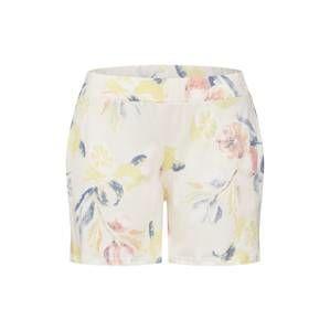 CALIDA Pyžamové kalhoty 'Favourites Trend 8'  béžová / světle žlutá / růžová