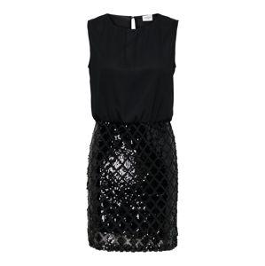 JACQUELINE De YONG Koktejlové šaty  černá