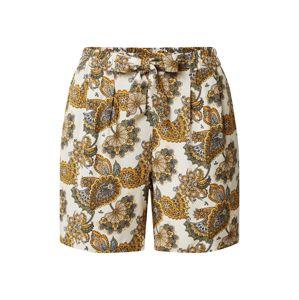 Soyaconcept Kalhoty se sklady v pase 'Idalou'  žlutá / mix barev