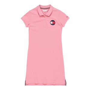TOMMY HILFIGER Šaty 'ESSENTIAL POLO DRESS'  pink