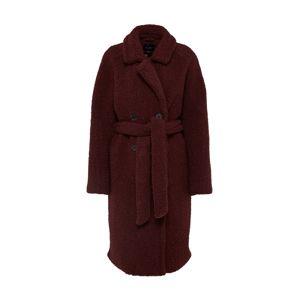 SELECTED FEMME Zimní kabát 'Slfpalla Teddy Coat'  bordó