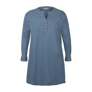 MY TRUE ME Košilové šaty  modrá džínovina