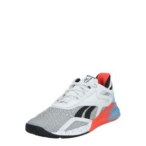 REEBOK Sportovní boty  bílá / oranžová / světlemodrá