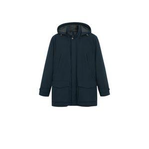 MANGO MAN Zimní kabát 'Arrow'  námořnická modř