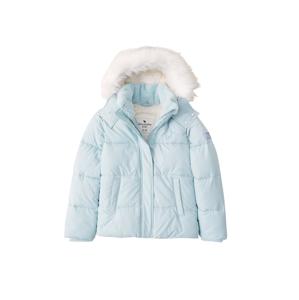 Abercrombie & Fitch Zimní bunda  tyrkysová