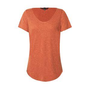 VERO MODA Tričko 'Vmlua'  oranžový melír / oranžově červená