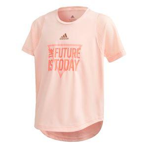 ADIDAS PERFORMANCE Funkční tričko 'The Future Today'  korálová / světle růžová