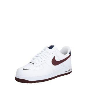 Nike Sportswear Tenisky 'AIR FORCE 1 '07 LV8 4'  černá / bílá