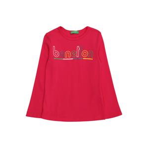 UNITED COLORS OF BENETTON Tričko  pink / žlutá / zelená / světle růžová