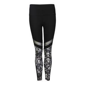 Marika Sportovní kalhoty 'VENUS'  černá / bílá