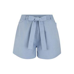 GLAMOROUS CURVE Kalhoty  kouřově modrá