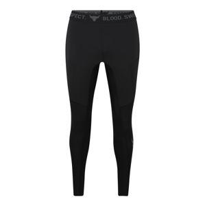 UNDER ARMOUR Kalhoty  tmavě šedá / černá