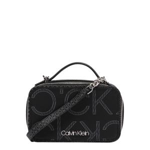 Calvin Klein Brašna na kameru  černá / šedá