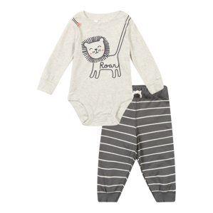 Carter's Spodní prádlo  šedá / bílá