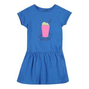 BLUE SEVEN Šaty  modrá / pink / žlutá