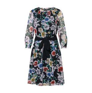 Esprit Collection Šaty 'Crinkle Poly Ch'  černá