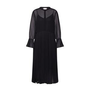 SECOND FEMALE Košilové šaty  černá