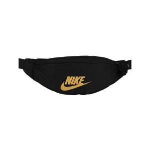 Nike Sportswear Ledvinka 'Heritage'  zlatá / černá