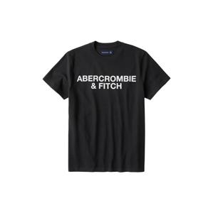Abercrombie & Fitch Tričko 'SS HW TEE ASIA EXCLUSIVE'  černá