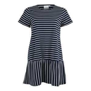 Junarose Šaty  námořnická modř / bílá