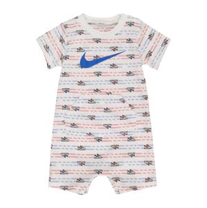 Nike Sportswear Overal  bílá / modrá / červená