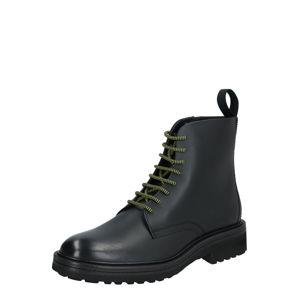 HUGO Šněrovací boty 'Impact_Halb_bo1'  černá