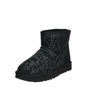 UGG Sněhule 'CLASSIC MINI SPARKLE GRAFFITI'  černá