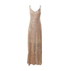 Trendyol Společenské šaty  zlatá