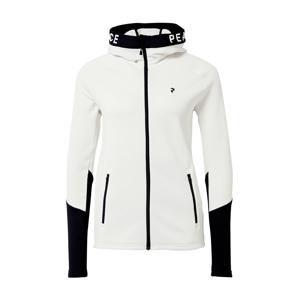 PEAK PERFORMANCE Sportovní bunda  bílá / černá